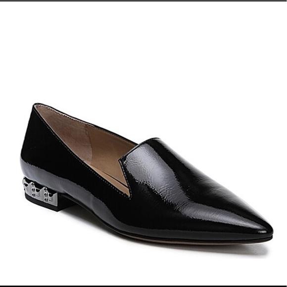 Black Patent Saturn Flat Loafers   Poshmark